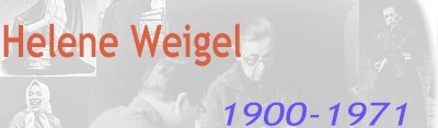 Helene Weigel, 1900-1971